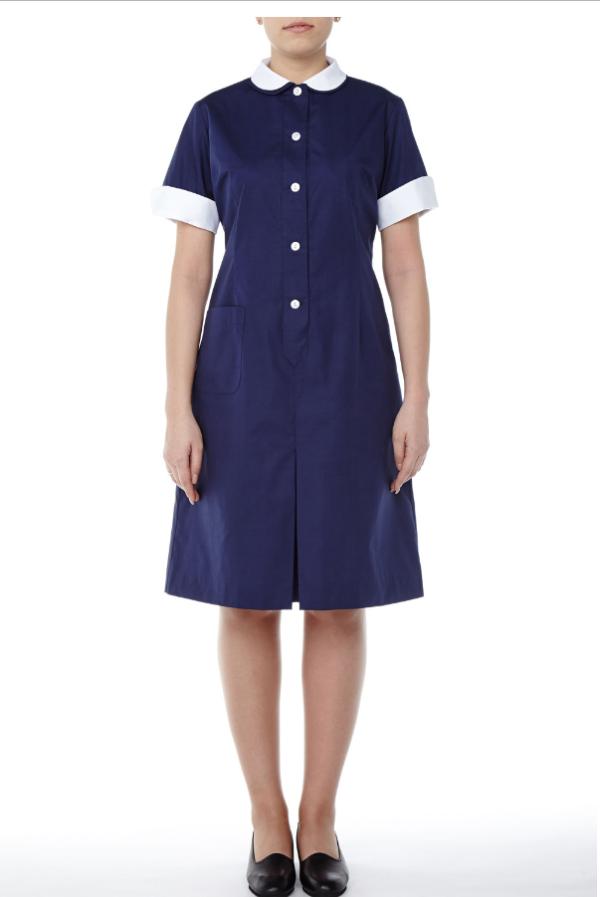 Laura Dress short sleeve - Mercatores Professional Clothing
