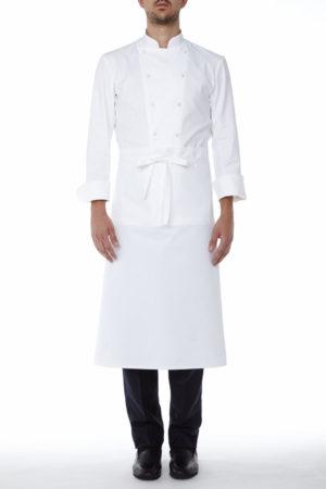 Pedro Apron white - Restaurant Aprons - Waitress Aprons - Work Aprons Mercatores Milano