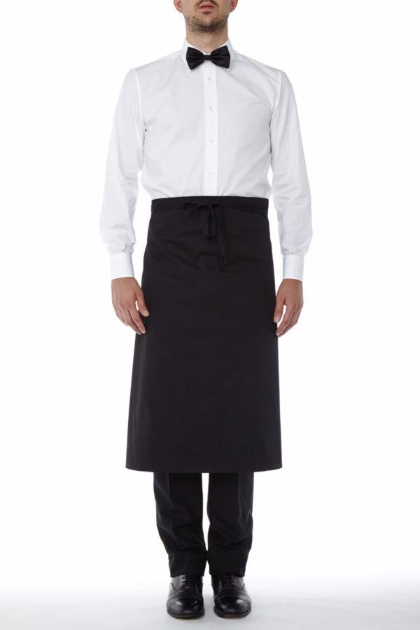 Pedro Apron black - Restaurant Aprons - Waitress Aprons - Work Aprons Mercatores Milano