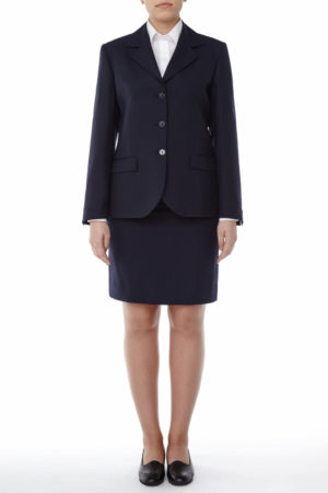 Stefy Receptionist Suit - Mercatores professional clothing